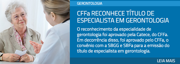 CFFa reconhece título de especialista em gerontologia