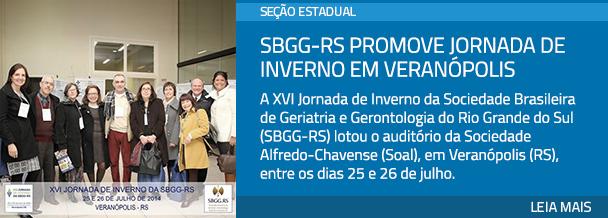 SBGG-RS promove jornada de inverno em Veranópolis
