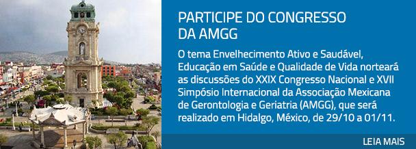 Participe do Congresso da AMGG