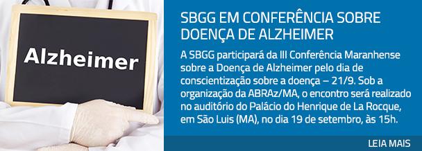 SBGG em conferência sobre doença de Alzheimer