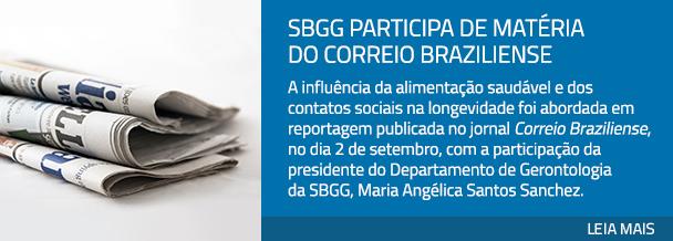 SBGG participa de matéria do Correio Braziliense