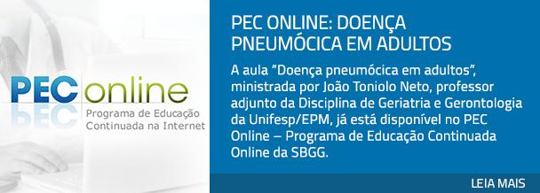 PEC Online: doença pneumócica em adultos