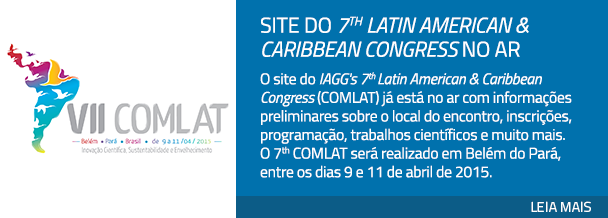 Site do 7th Latin American & Caribbean Congress no ar