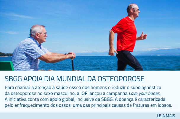 SBGG apoia Dia Mundial da Osteoporose