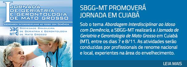 SBGG-MT promoverá Jornada em Cuiabá