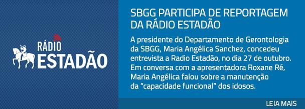 SBGG participa de reportagem da Rádio Estadão