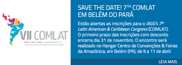 Save the Date! 7th COMLAT em Belém do Pará