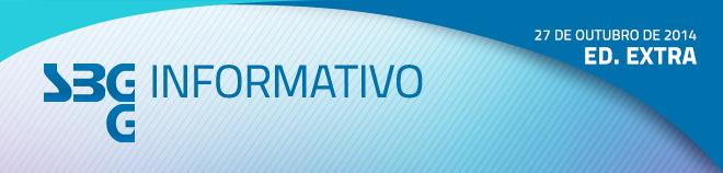 SBGG Informativo - Ed. Extra - 27 de outubro de 20144