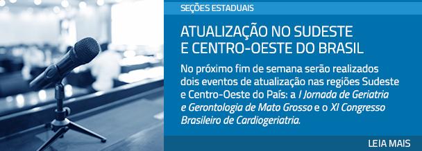 Atualização no Sudeste e Centro-Oeste do Brasil