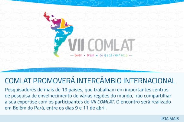 COMLAT promoverá intercâmbio internacional