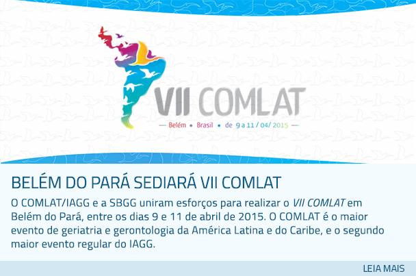 Belém do Pará sediará VII COMLAT
