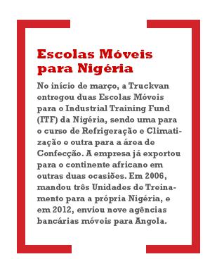 Escolas Móveis para Nigéria
