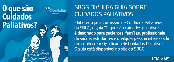 SBGG divulga guia sobre cuidados paliativos