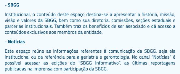 SBGG inicia 2015 com novo site