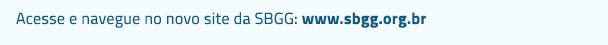 Acesse o novo site da SBGG