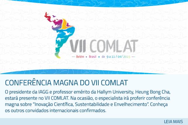 Conferência magna do VII COMLAT