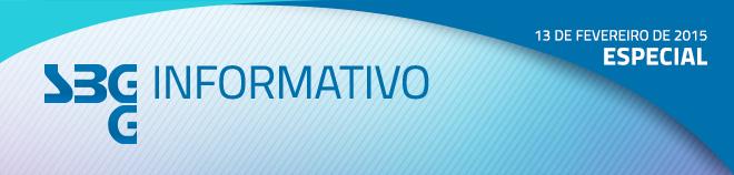 SBGG Informativo - Ed. Especial - 13 de fevereiro de 2015