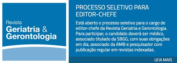 Processo seletivo para editor-chefe