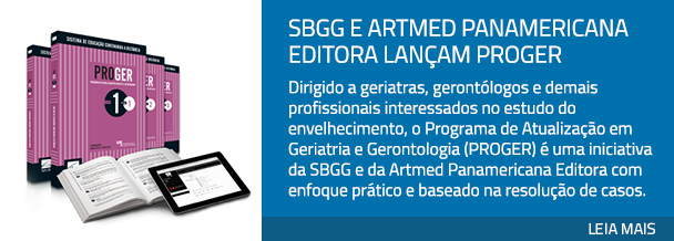 SBGG e Artmed Panamericana Editora lançam PROGER