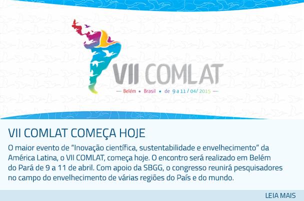 VII COMLAT começará nesta quinta-feira