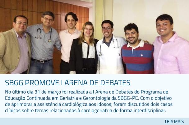 SBGG promove I Arena de Debates