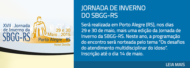 Jornada de Inverno do SBGG-RS