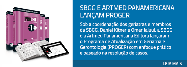 SBGG e Artmed Panamericana lançam PROGER