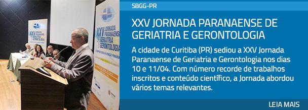 XXV Jornada Paranaense de Geriatria e Gerontologia