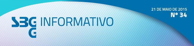 SBGG Informativo - Nº 34 - 21 de maio de 2015