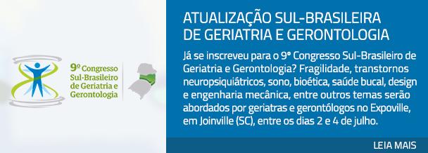 Atualização sul-brasileira de Geriatria e Gerontologia