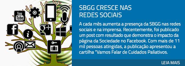 SBGG cresce nas redes sociais
