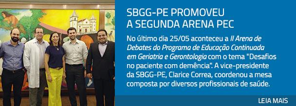 SBGG-PE promoveu a segunda Arena PEC