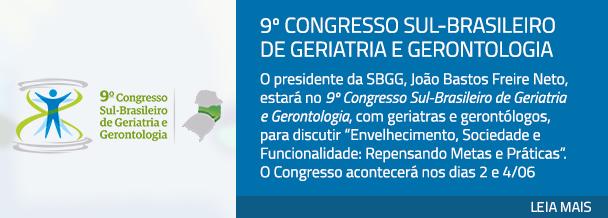 9º Congresso Sul-Brasileiro de Geriatria e Gerontologia