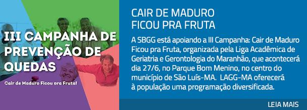 Cair de Maduro Ficou pra Fruta