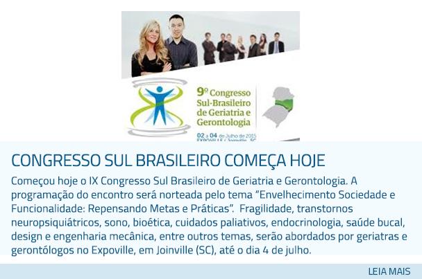 Congresso Sul Brasileiro comega hoje