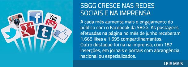 SBGG cresce nas redes sociais e na imprensa