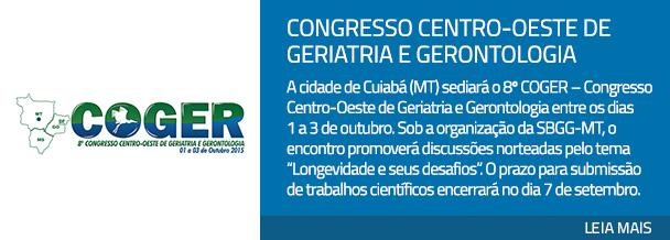Congresso Centro-Oeste de Geriatria e Gerontologia
