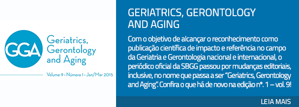 Geriatrics, Gerontology and Aging