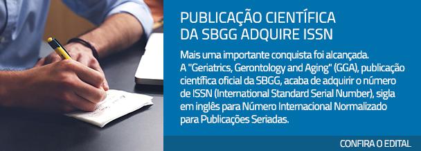 Publicação Científica da SBGG adquire ISSN
