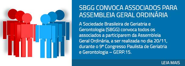 SBGG convoca associados para Assembleia Geral Ordinária