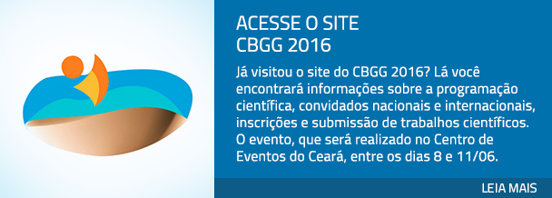Acesse o site CBGG 2016