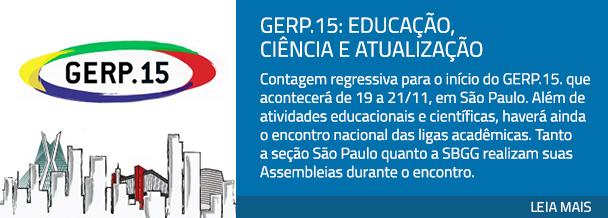 GERP.15: Educação, Ciência e Atualização