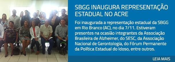 SBGG inaugura representação estadual no Acre
