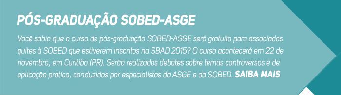 Pós-graduação SOBED-ASGE
