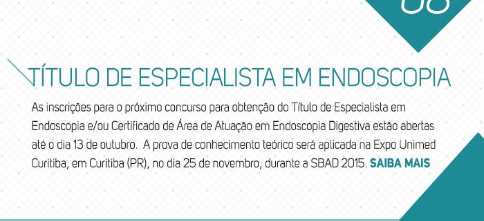 Título de Especialista em Endoscopia