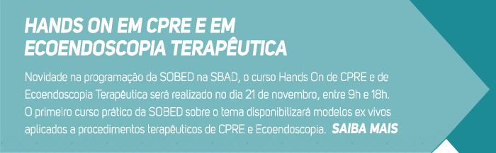 Hands On em CPRE e em Ecoendoscopia Terapêutica