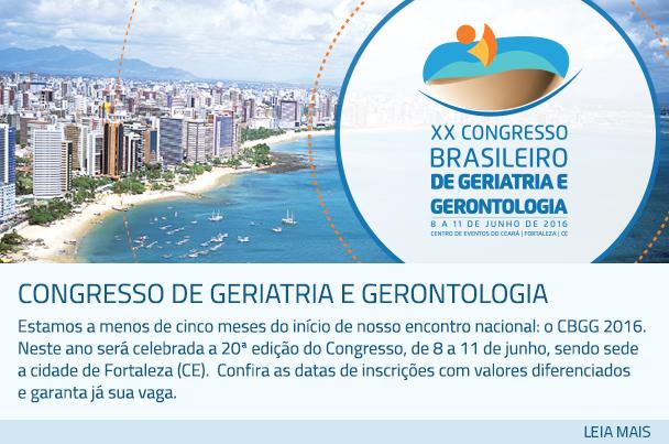 Congresso de Geriatria e Gerontologia
