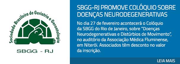 SBGG-RJ promove Colóquio sobre Doenças Neurodegenerativas