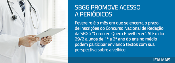 SBGG promove acesso a periódicos