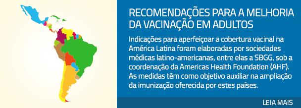 Recomendações para a melhoria da vacinação em adultos